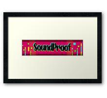 Soundproof Gaming Logo 2 Framed Print
