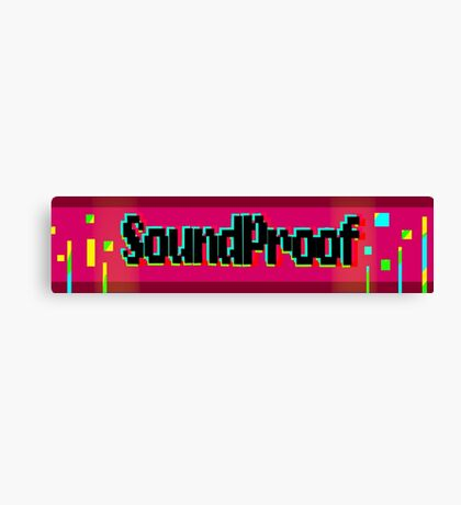 Soundproof Gaming Logo 2 Canvas Print