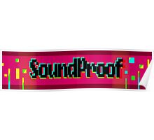 Soundproof Gaming Logo 2 Poster