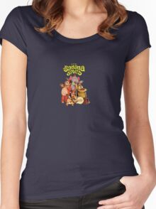 The Banana Splits  Women's Fitted Scoop T-Shirt