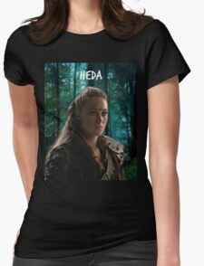 Lexa- The 100 Heda Womens Fitted T-Shirt
