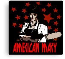 American Mary Canvas Print