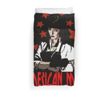 American Mary Duvet Cover