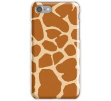 Giraffe Skin Pattern iPhone Case/Skin