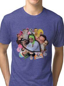 Papa Franku Tri-blend T-Shirt