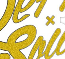 Deff-Soul Gold print Sticker