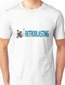 RetroBlasting Logo Light Unisex T-Shirt