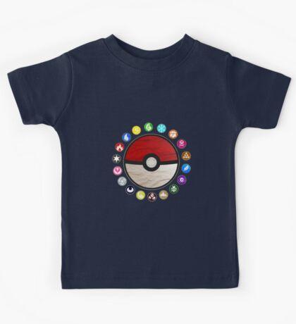 Pokemon - Pokeball Kids Tee