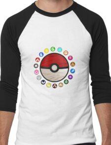 Pokemon - Pokeball Men's Baseball ¾ T-Shirt