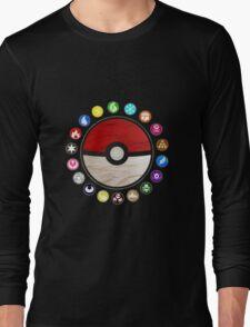 Pokemon - Pokeball Long Sleeve T-Shirt