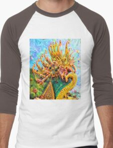 Barbed Dragon Men's Baseball ¾ T-Shirt