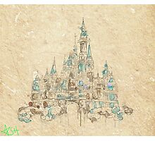 Enchanted Storybook Castle Photographic Print