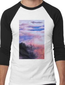 SUNRISE CLOUDS Men's Baseball ¾ T-Shirt