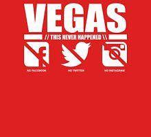 VEGAS - This Never Happened Womens Fitted T-Shirt