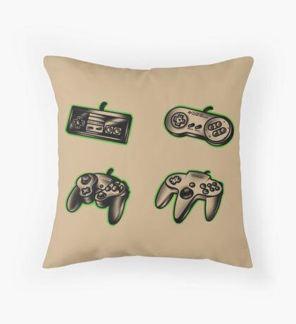 Nintendo Old School PAD Throw Pillow