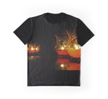 Autumn Candle Light Graphic T-Shirt