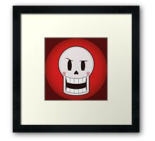 Papyru the friendly and silly skeleton Framed Print