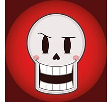 Papyru the friendly and silly skeleton Photographic Print