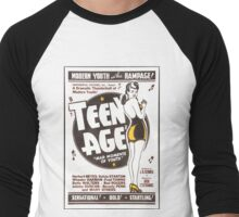 Teenage Mad Moments of Youth Retro Movie Men's Baseball ¾ T-Shirt