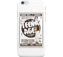 Teenage Mad Moments of Youth Retro Movie iPhone Case/Skin