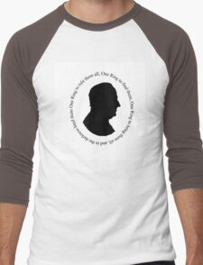 J R R Tolkien Men's Baseball ¾ T-Shirt