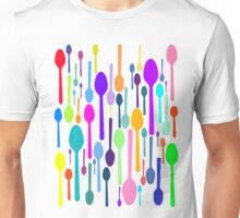 Spoons All Over Unisex T-Shirt