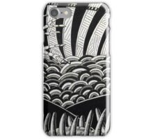 260 - CAT DESIGN - DAVE EDWARDS - INK - 2016 iPhone Case/Skin