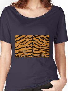 Tiger Skin Pattern Women's Relaxed Fit T-Shirt