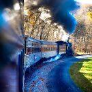 Yesterday by Train  by ArtbyDigman