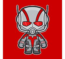 Ant man - red Photographic Print
