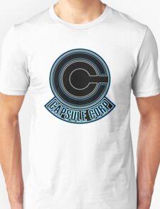 °GEEK° Dragon Ball Z Capsule Corp Neon Logo Unisex T-Shirt
