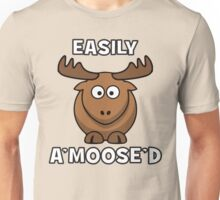 Easily A'Moose'd (Amused) Unisex T-Shirt