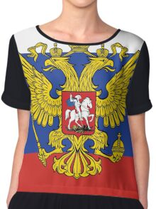Russia Coat of Arms Chiffon Top