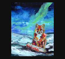 Snowy Fox Unisex T-Shirt