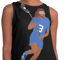 Female Lacrosse Player Contrast Tank