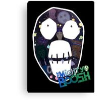 Mighty Boosh big face Canvas Print