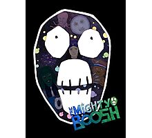 Mighty Boosh big face Photographic Print