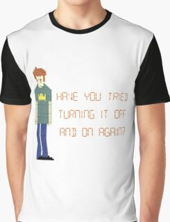 The IT Crowd – Have You Tried…? Graphic T-Shirt