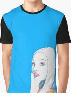 Maddie Ziegler Pencil Portrait Graphic T-Shirt