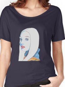 Maddie Ziegler Pencil Portrait Women's Relaxed Fit T-Shirt