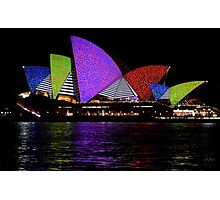 Vivid 2016 Opera House 35 Photographic Print