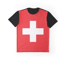 Switzerland Flag Graphic T-Shirt