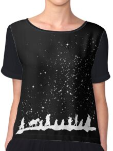 fellowship under starry sky Chiffon Top