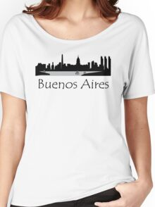 Buenos Aires Argentina Cityscape Women's Relaxed Fit T-Shirt