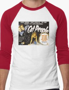 Catpeople Caught In The Night Men's Baseball ¾ T-Shirt