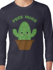 Free Hugs (Cactus) Long Sleeve T-Shirt