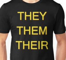THEY/THEM/THEIR Unisex T-Shirt
