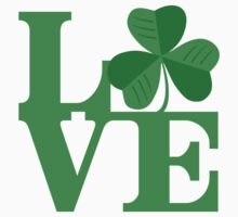 Shamrock Love Kids Tee