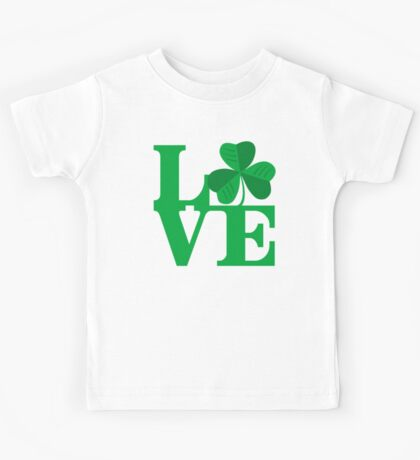 Shamrock Love Kids Tee