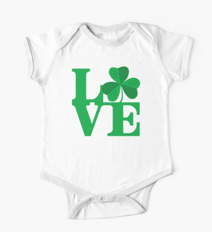 Shamrock Love One Piece - Short Sleeve